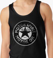 Camisetas de tirantes para hombre Anuncio de Texaco vintage