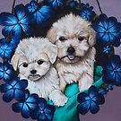 Floating Pups by Kayleigh Templeton