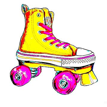 yellow pop skate by brandydevoid
