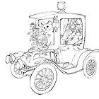 cat car by felissimha