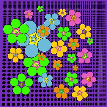 Flower Power Dots by Sheri42