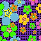 Flower Power Dots by Sheri42
