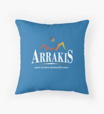 Arrakis Water Company (Dune) Throw Pillow