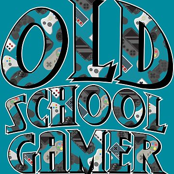 Old School Gamer by willijay