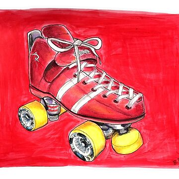 Red pop skate by brandydevoid