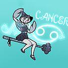 Cancer Zodiac Witch by evocaitart