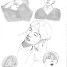 V Sketches by fayeemily