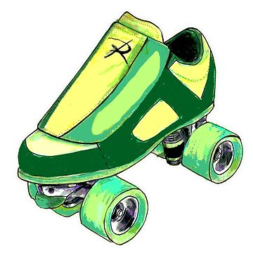 green skate pop by brandydevoid