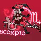 Scorpio Zodiac Witch by evocaitart