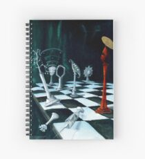 Science-Chess Accommodating Religion Spiral Notebook