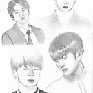 Jungkook Sketches by fayeemily