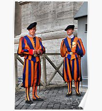 Papal Swiss Guards Poster