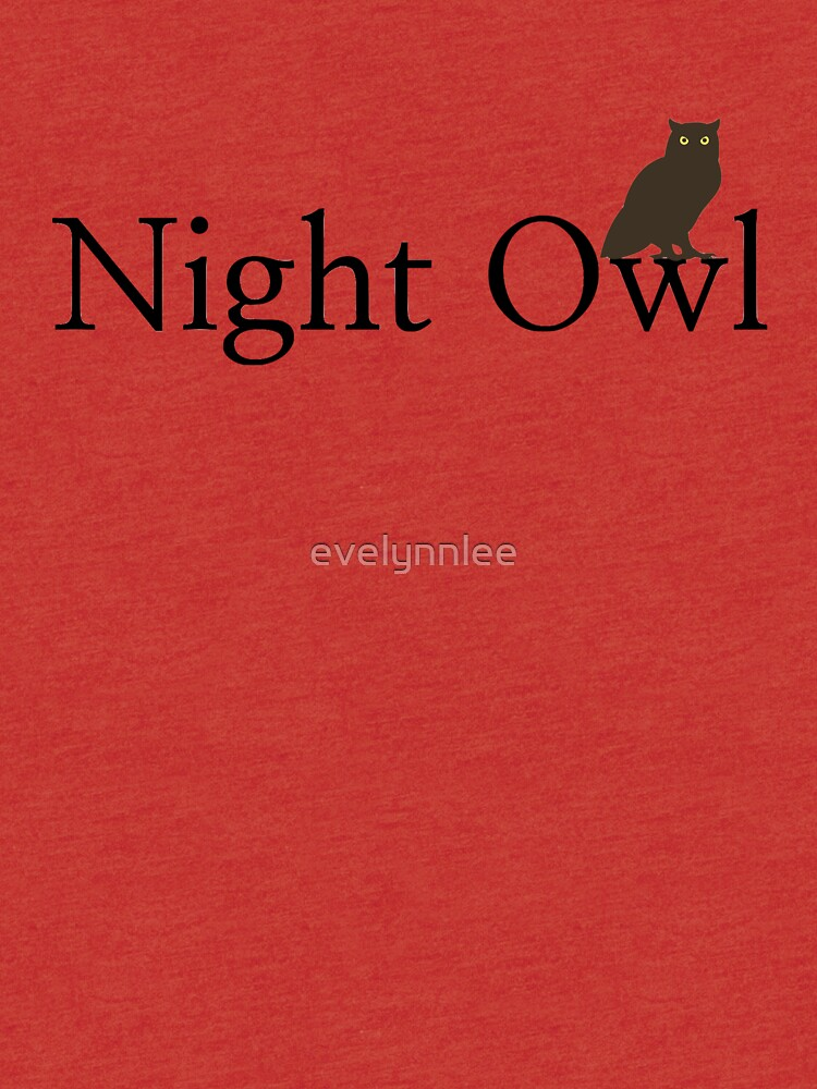 Night Owl by evelynnlee