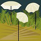 Marasmius Mushrooms by dstrctdntrlst