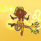Leo Zodiac Witch by evocaitart