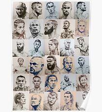 MMA collage inktober 2018 - [portrait layout] Poster