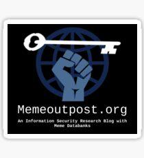 Memeoutpost.org Sticker