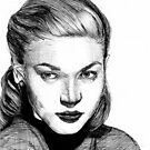 Lauren Bacall by fayeemily