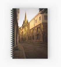 Golden in the heyday of his eyes Spiral Notebook