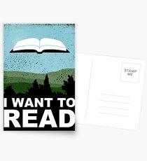 Ich will lesen Postkarten