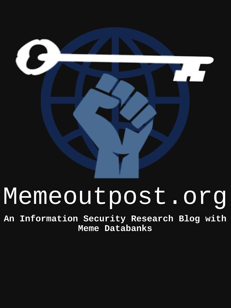 Memeoutpost.org -Shirt by christhebold