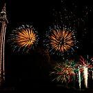 Fireworks at Blackpool by KathO