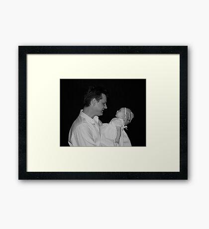 Daddy's Girl Framed Print