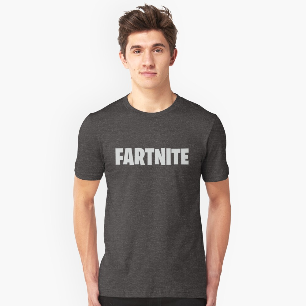 Funny Farnite Gaming Parody Game Meme Unisex T-Shirt Front