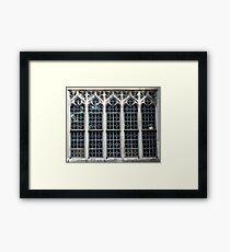 Gothic Glass Framed Print