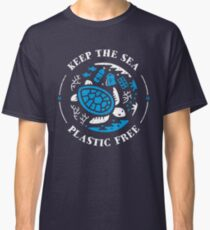 Keep the Sea Plastic Free Marine Scene Classic T-Shirt