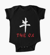 """Year of The Ox """"The Ox"""" One Piece - Short Sleeve"""