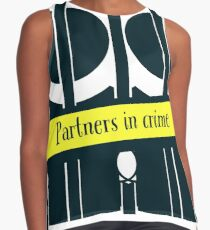 Partners in Crime  Contrast Tank