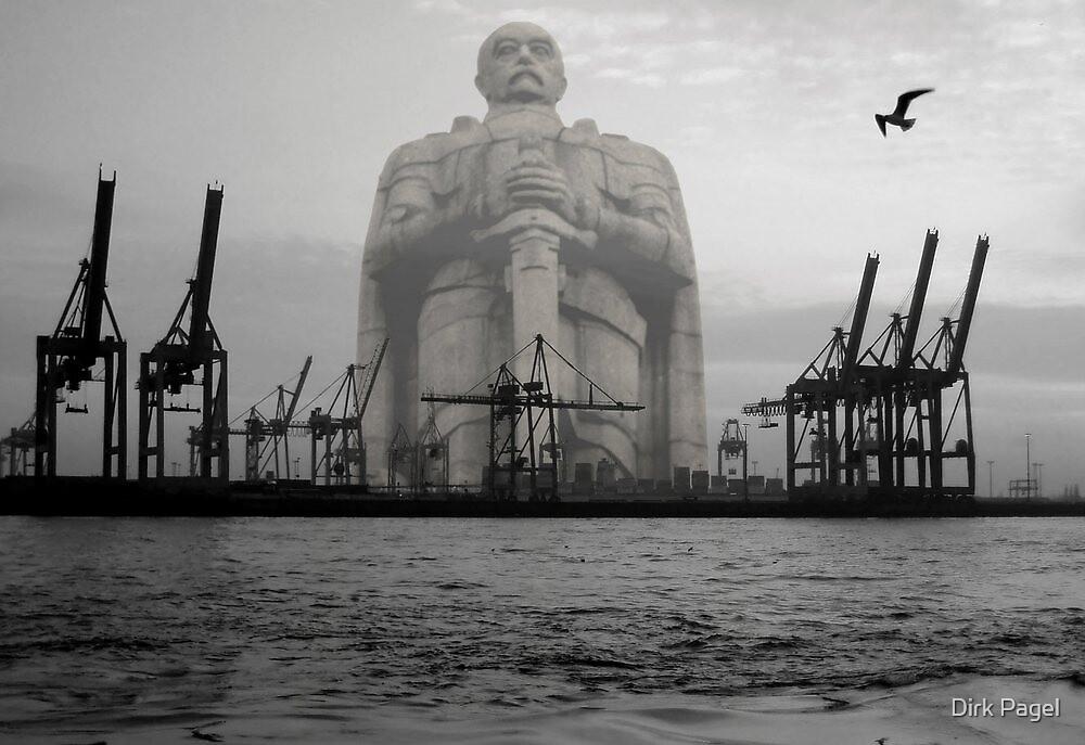 Watch over Hamburg by Dirk Pagel