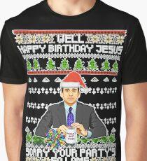 Happy Birthday Jesus Graphic T-Shirt