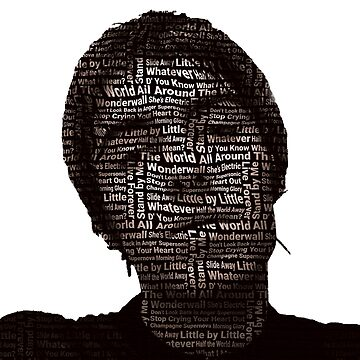 ★ Liam Gallagher Oasis Art by cadcamcaefea