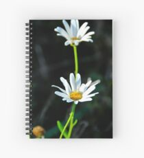 Double daisy Spiral Notebook