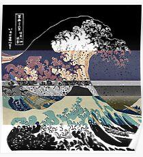 der große Wellenfarbfehler Poster