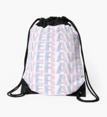 Plur Pastel Rave  Drawstring Bag
