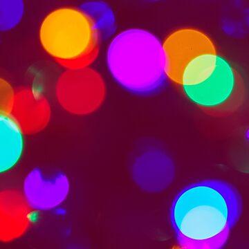 Festive Bokehdots by ColdBloodedKid