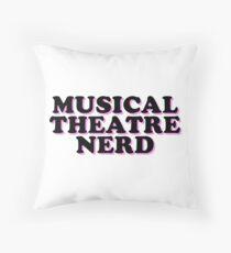 Cojín teatro musical nerd