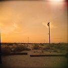Wonder Valley Sunset by joshsteich