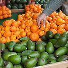 Avocados, Oranges by joshsteich