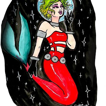 Space Mermaid by SophieJewel