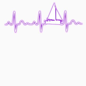 Fishingboat heartbeat gift by LikeAPig