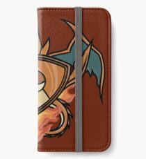 Charizard pokemon shield iPhone Wallet/Case/Skin
