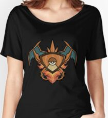 Charizard pokemon shield Women's Relaxed Fit T-Shirt