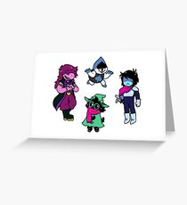The Gangs all Here! Greeting Card