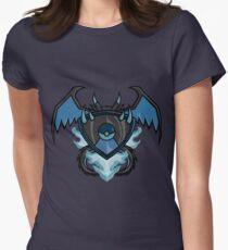 pokemon charizard x shield Women's Fitted T-Shirt