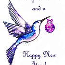 Christmas Hummingbird by Linda Callaghan