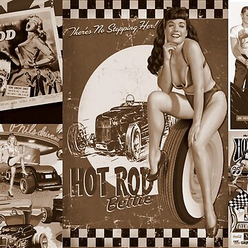 HOT RODS by Tinpants
